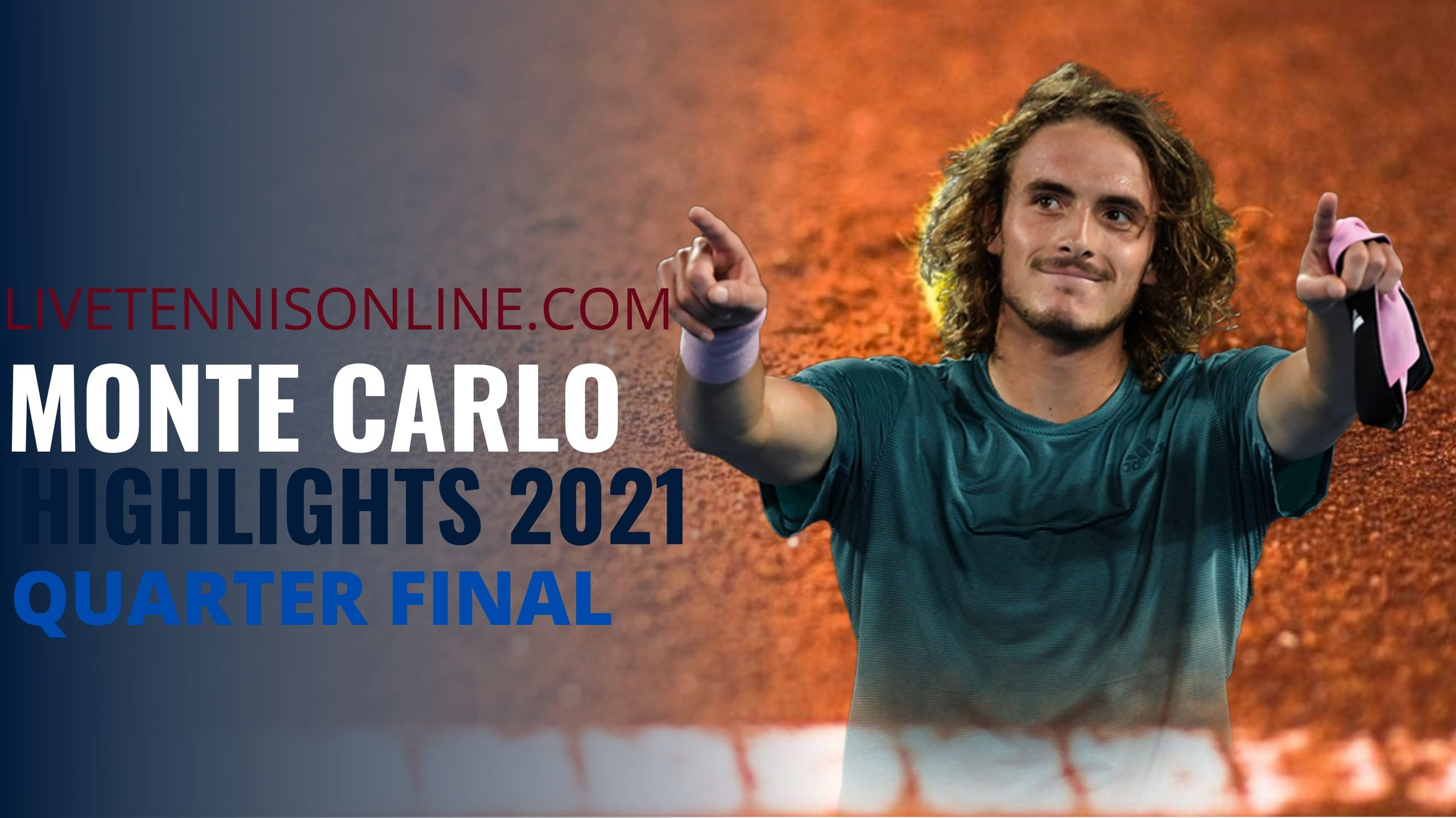 Tsitsipas Vs Davidovich Quarter Final Highlights 2021
