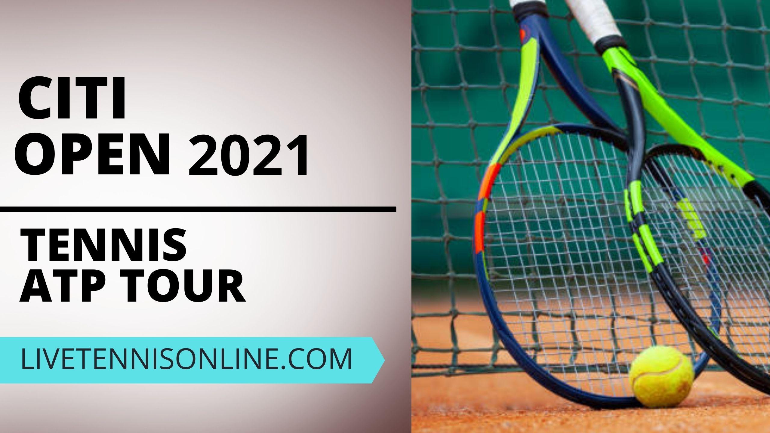 ATP Citi Open Live Stream 2021 | Day 2