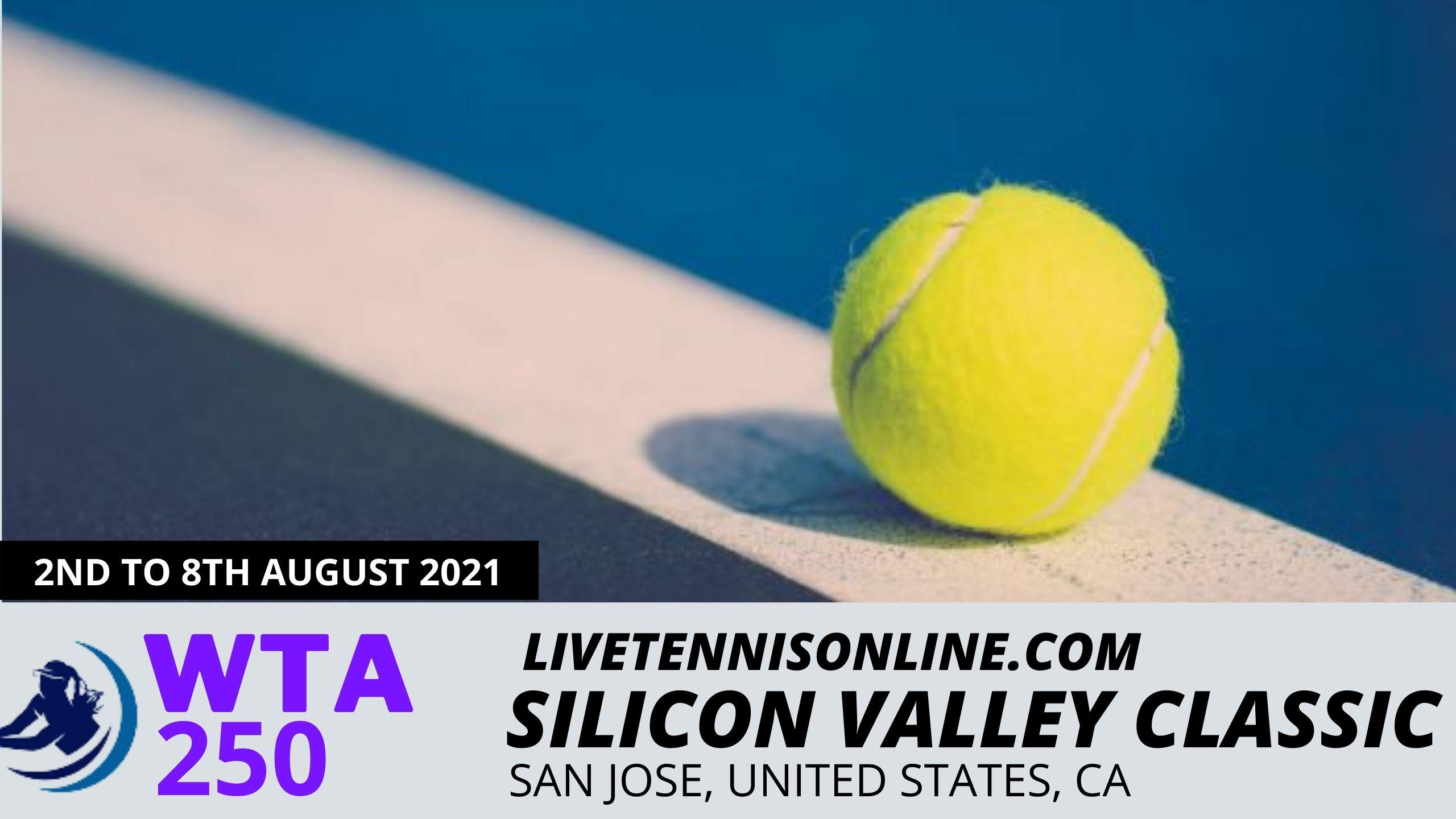 WTA Silicon Valley Classic Live Stream 2021 | Day 2