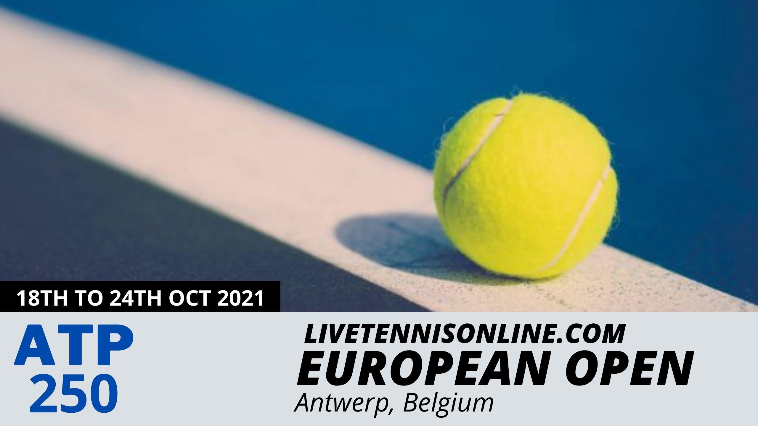 European Open Live Stream 2021 | ATP Final