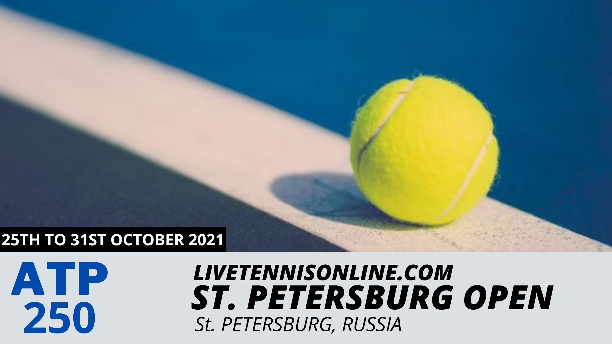 ATP St Petersburg Open Live Stream 2021 | Day 1