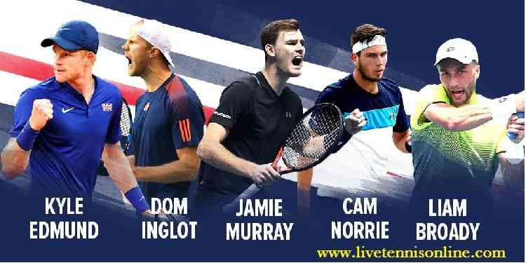 Great Britain vs Spain 1st Round Davis Cup HD Live