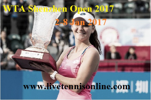 WTA Shenzhen Open 2017 Live