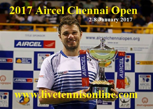 2017 Aircel Chennai Open live