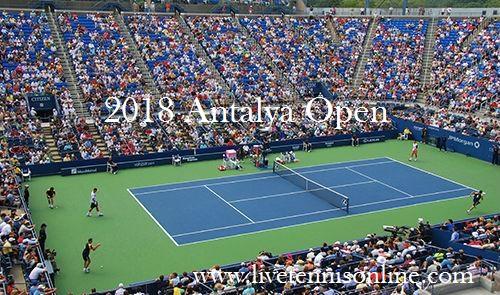 2018 Antalya Open Live Stream