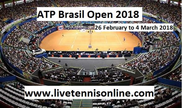 ATP Brasil Open 2018 Live Streaming