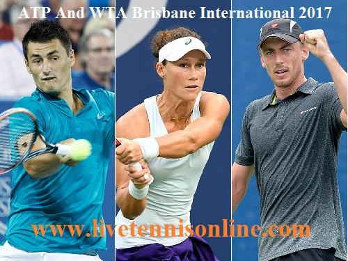 Live 2017 Brisbane International Online