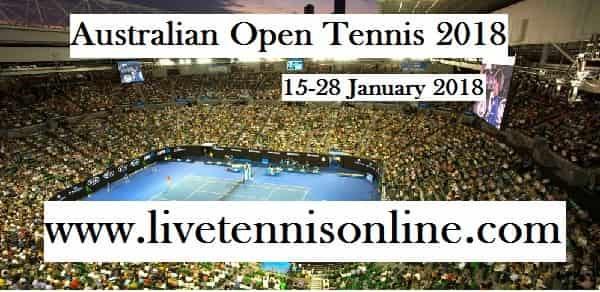 Live Australian Open 2018 Online