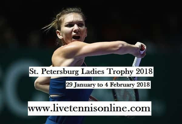 WTA St. Petersburg Ladies Open 2018 Live Stream
