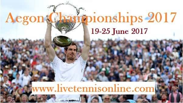 Aegon Championships 2017 live