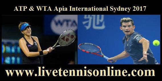 Apia International Sydney live stream