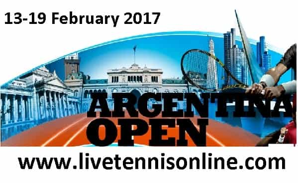 Argentina Open 2017 HD Live