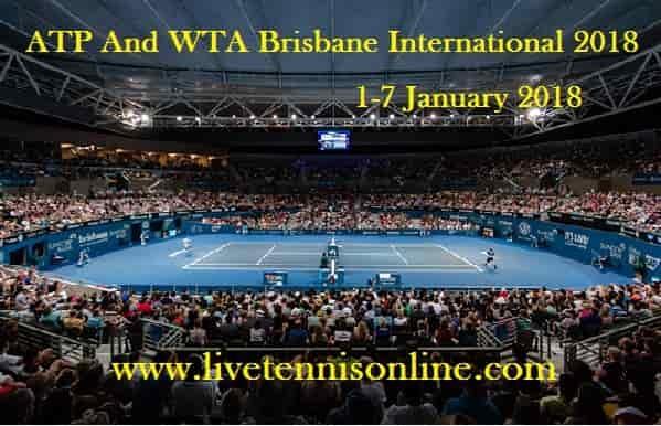ATP And WTA Brisbane International