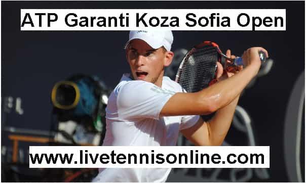 ATP Garanti Koza Sofia Open live