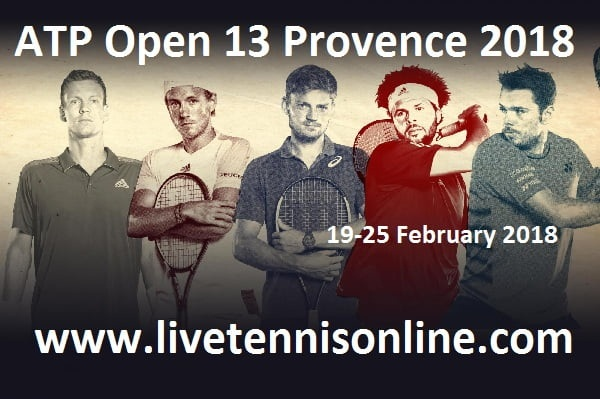 ATP Open 13 Provence 2018