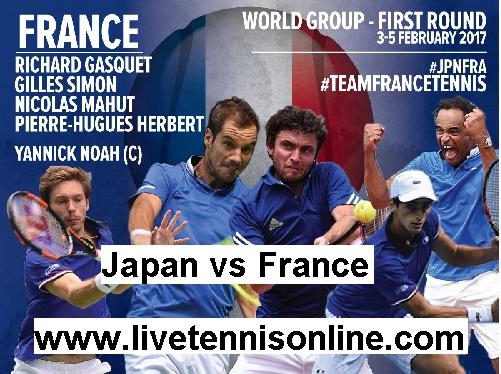 Japan vs France live