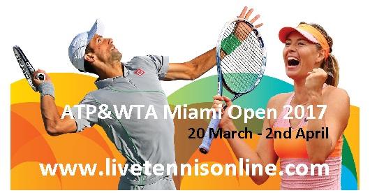 Miami Open 2017 live