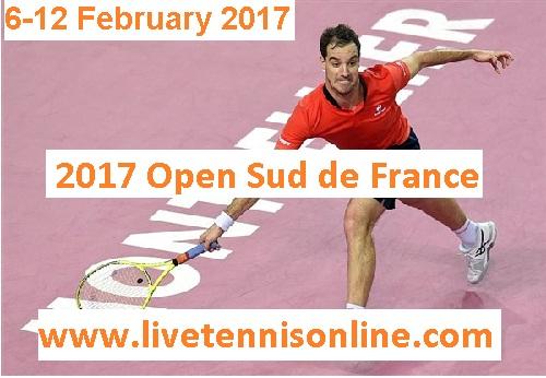 Open Sud de France 2017 live