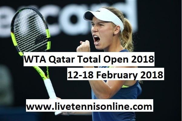 WTA Qatar Total Open 2018