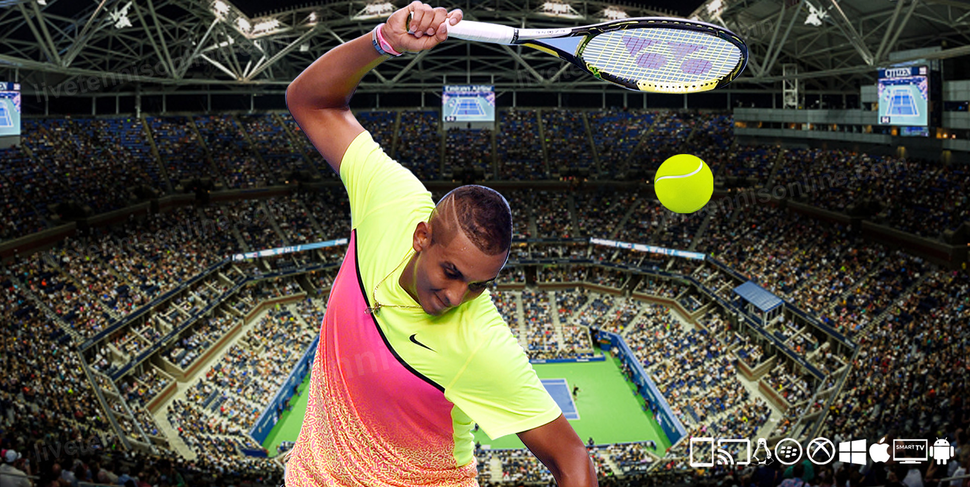 Watch Tennis Live Stream Online 2021 | ATP, WTA, Grand Slam slider