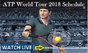 ATP World Tour Tennis 2018 Schedule
