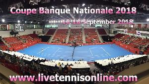 Coupe Banque Nationale 2018 Live Stream