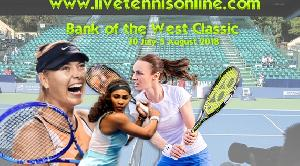 Watch Bank of the West Classic 2018 Live